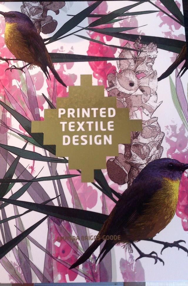 printed textile designbok
