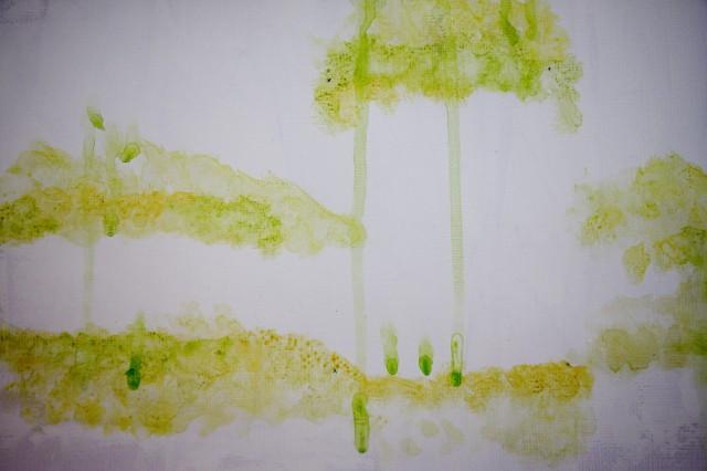 bakgrund akvarell
